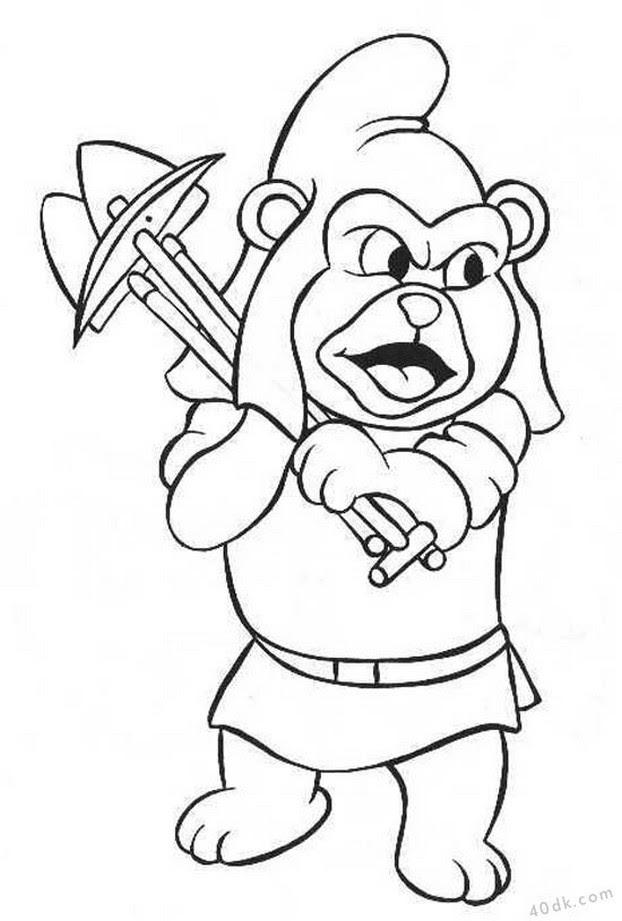 Gummi Bears Boyama Sayfası 14 Adet