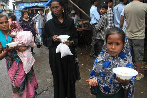 The Beggars Having Sheer Korma On Eid ,,, by firoze shakir photographerno1