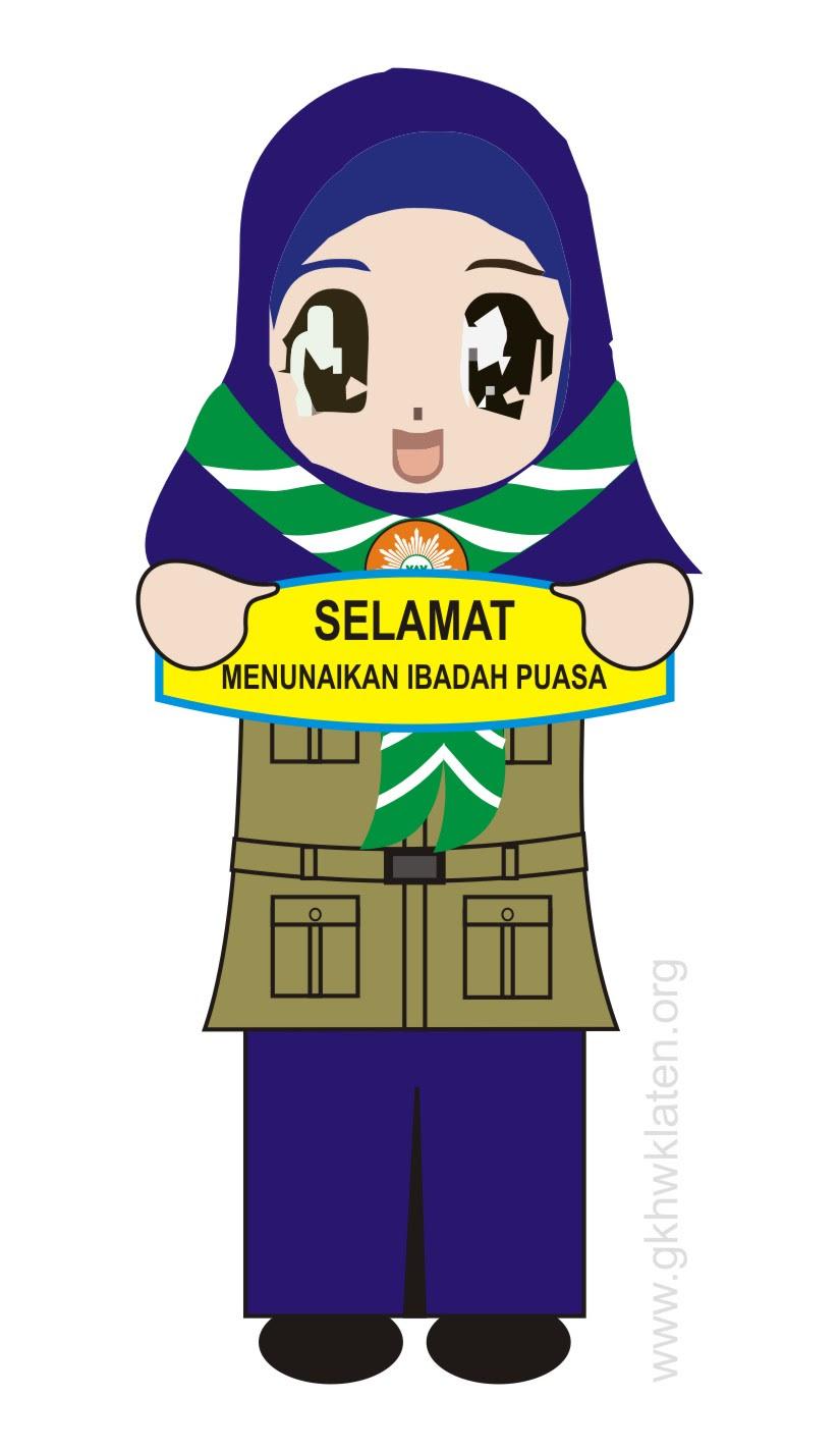 Gambar Kartun Muslimah Anak Sekolah Smp - Gallery Islami ...