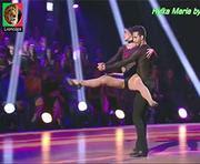 Hylka Maria sensual a dançar no dancing brasil
