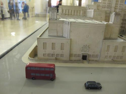 Scale model of Senate House