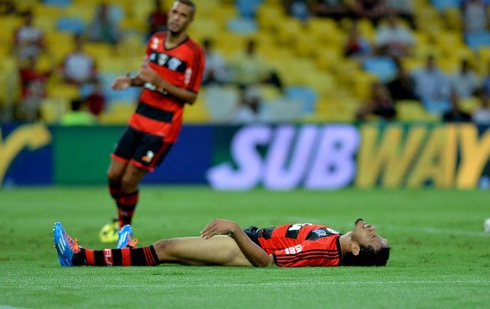 Hernane Flamengo e Cabofriense (Foto: André Durão / Globoesporte.com)