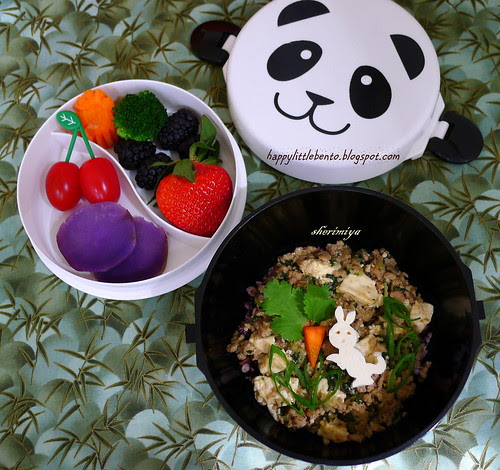 Ma Po Easter Bunny Bento by sherimiya ♥