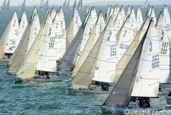 J/80 sailboats- starting at SPI Ouest France