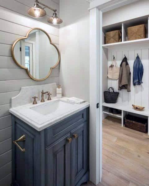 Top 50 Best Shiplap Bathroom Ideas - Nautical Inspired ...