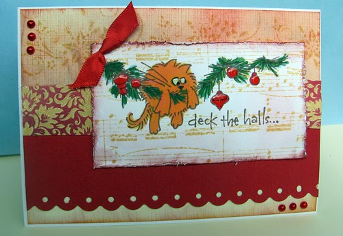 Deck the Halls - Orange Moggy
