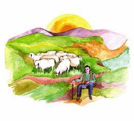 Αποτέλεσμα εικόνας για πάσχα,βοσκοι,χωριο,προβατα,παραδοση