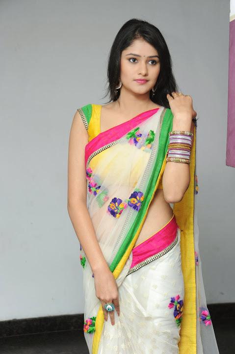 Kushi Actress Saree Pictures