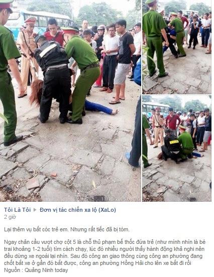 Hình ảnh Xác minh tin phụ nữ bắt cóc trẻ con tại Quảng Ninh xôn xao Facebook số 1
