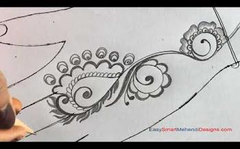 Arabic Flower Design