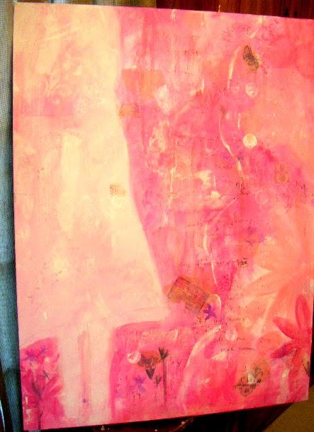 New Work In Progress-Spring Journey