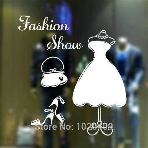 fashion show lemari latar belakang kata dinding stiker