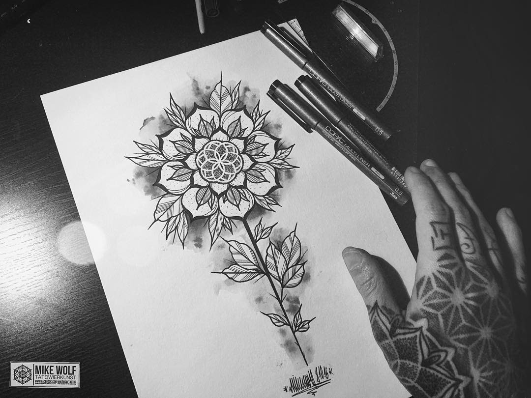 Flower Tattoo Design Best Tattoo Ideas Gallery