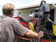 Interviewing Racer