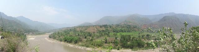 the Kathmandu-Pokhara Highway