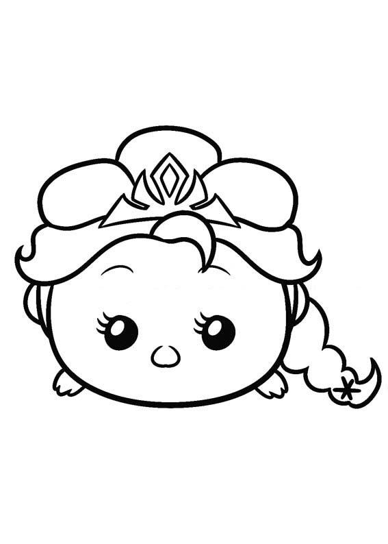 Tsum Tsum Para Colorear Pintar E Imprimir
