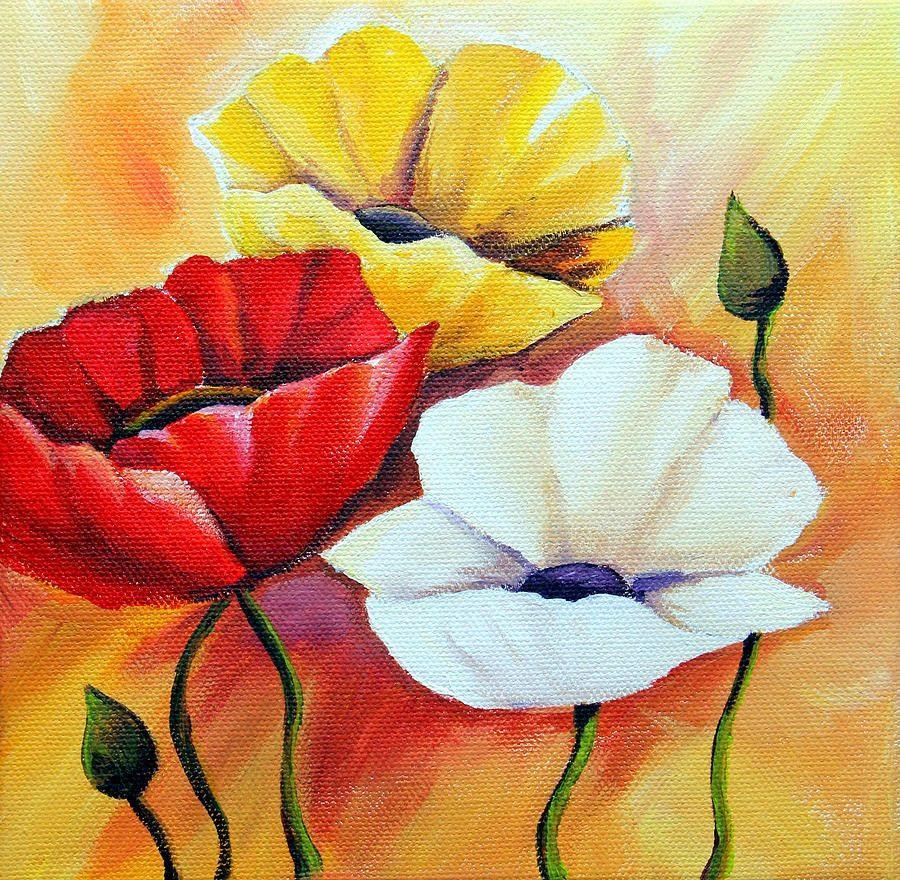 Flores Rojas Amarillas Y Blancas Imagenes Y Fotos