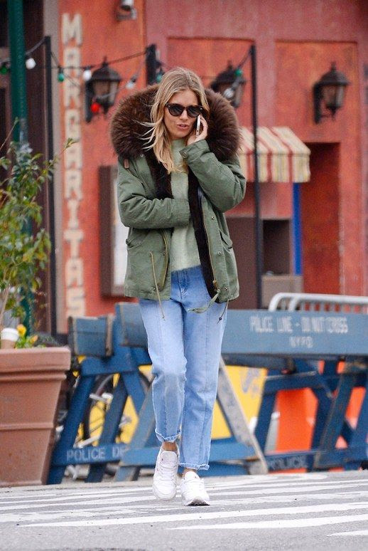 Le Fashion Blog Sienna Miller Streetstyle 12 Parka Jackets To Shop Via Vogue