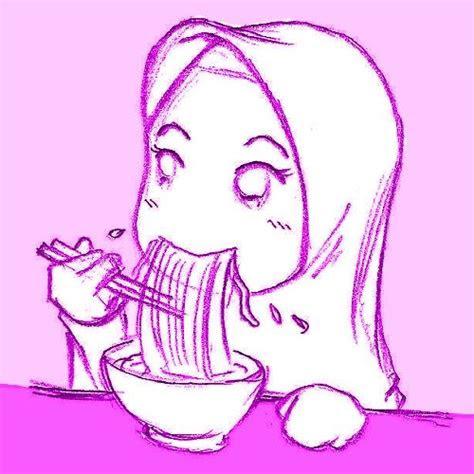 eating ramen noodles  slurp