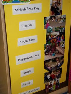 Preschool - getting started - daily routine/schedule free ...