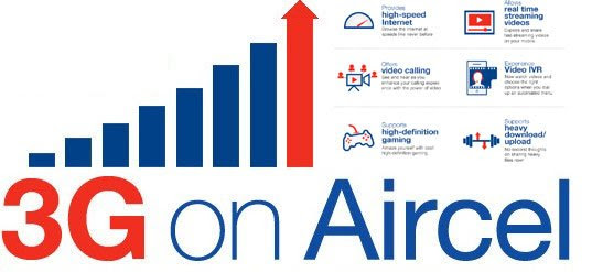 Aircel Free Unlimited 3G Trick May 2016