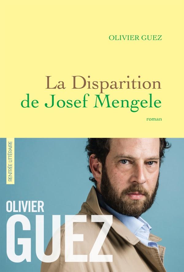 """Résultat de recherche d'images pour """"olivier guez la disparition de josef mengele"""""""