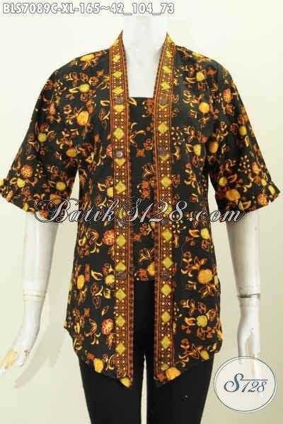 baju blus ukuran xl pakaian batik wanita model kartini