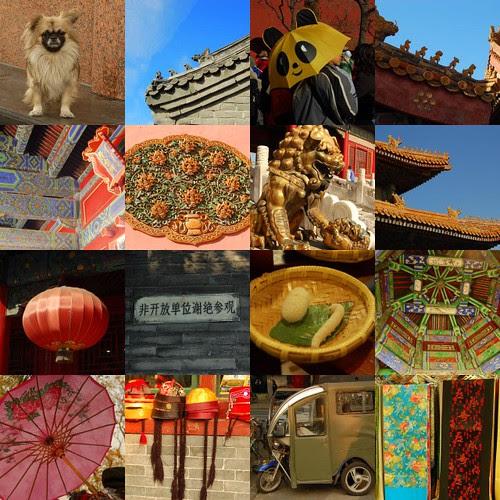 Beijing collage