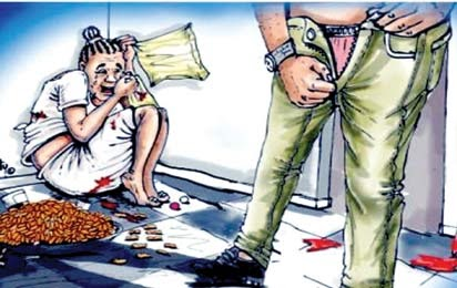 Police arrest Man for raping a 9yr old girl .
