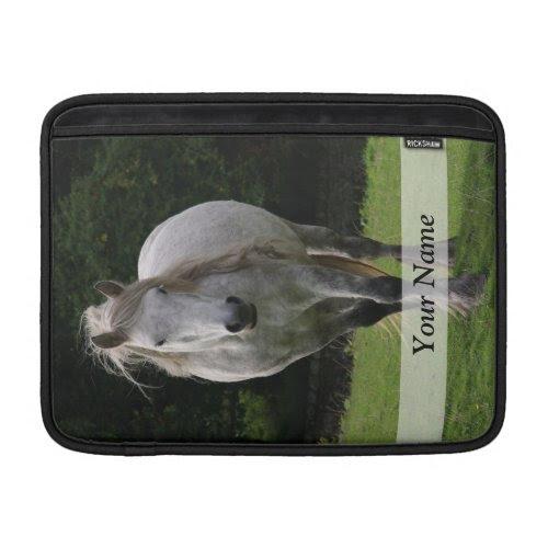 Cute pony photograph MacBook air sleeve