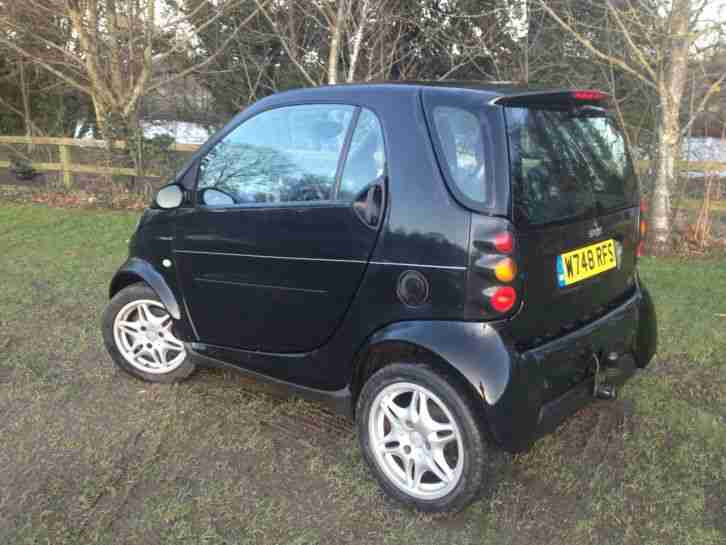 Smart 2000 Fortwo CDI COMPACT CAR BLACK. car for sale