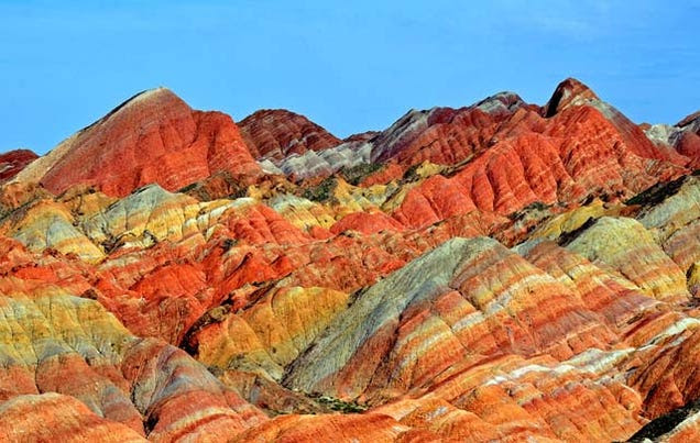 These Rainbow Mountains Are China's Secret Geological Wonder