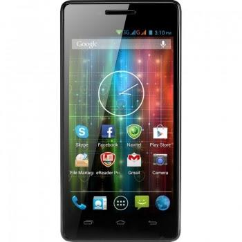 "Telefon Mobil Prestigio MultiPhone PAP5450 DUO Black Dual SIM 4.5"" 480x854 Dual Core 1.2Ghz memorie interna 4GB Camera Foto 5MPx Android v4.2 PAP5450DUO"
