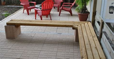 Cheap outdoor landscape timber bench seating Materials: 9
