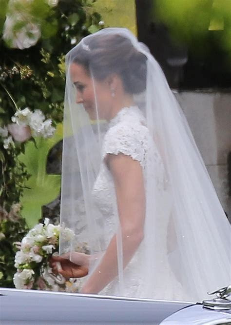 Pippa Middleton's Veil Was Designed by Stephen Jones