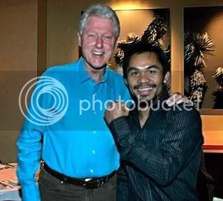 Bill Clinton,Manny Pacquiao
