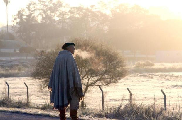 Amanhecer tem mínima de -2ºC em Quaraí, na Fronteira Oeste Francisco Bosco/Especial