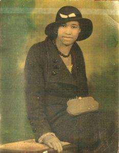 Amelia Boynton Robinson as a teen in the 1920s.  Courtesy of Mrs. Amelia Boynton Robinson.