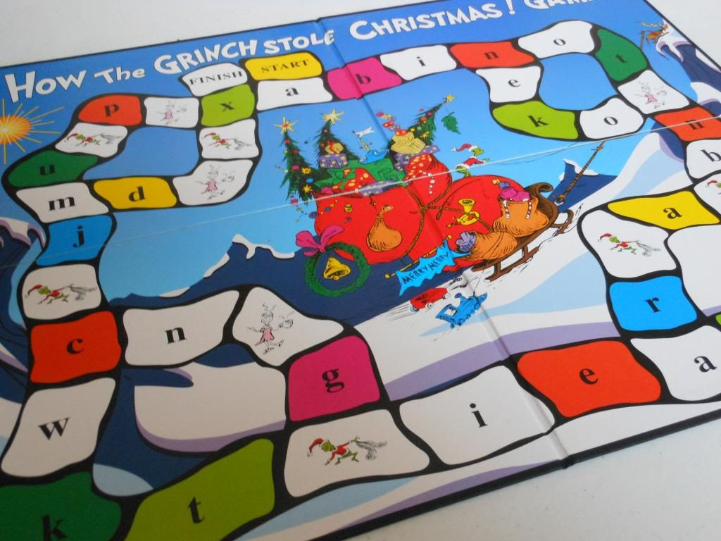 How the Grinch Stole Christmas game board