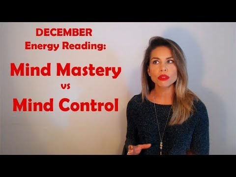 Video Nicole Frolick December Energy Reading Mind