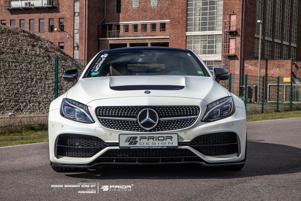 Prior Design Make The Mean Mercedes-AMG C63 Coupe Look Furious