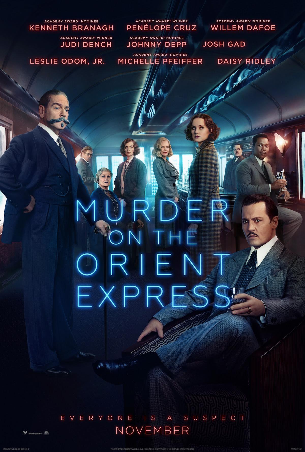 Resultado de imagem para Murder on the Orient Express 2017 posters