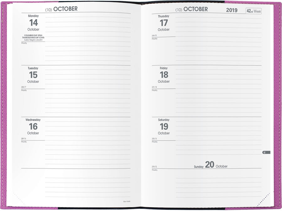 Search all Quo Vadis Planners | Quo Vadis Journals & Agendas