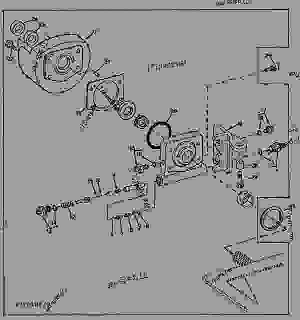 Ford Alternator Wiring Diagram For 7600
