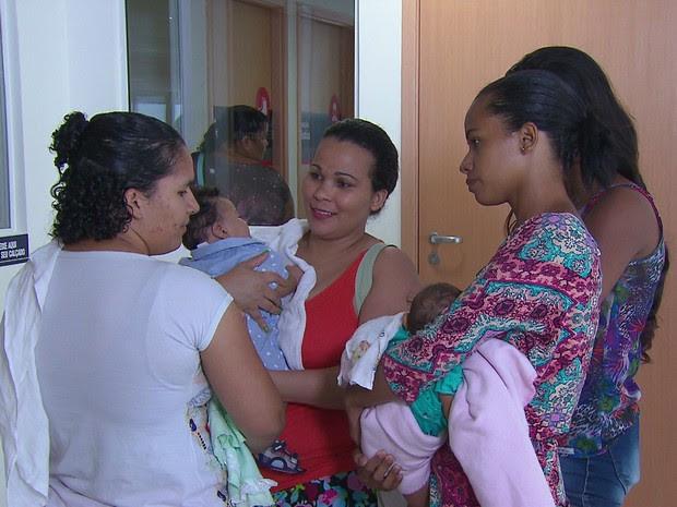 Mães de bebês com microcefalia se uniram para trocar experiências e superar dificuldades (Foto: Reprodução / TV Globo)