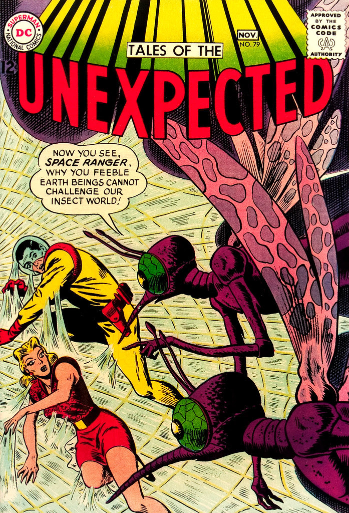 Tales of the Unexpected #79 (DC, 1963) Bob Brown cover
