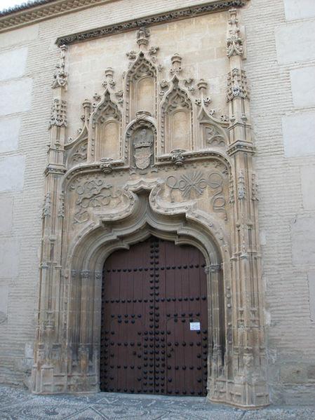 File:Granada monasterio santa isabel la real portada2.jpg
