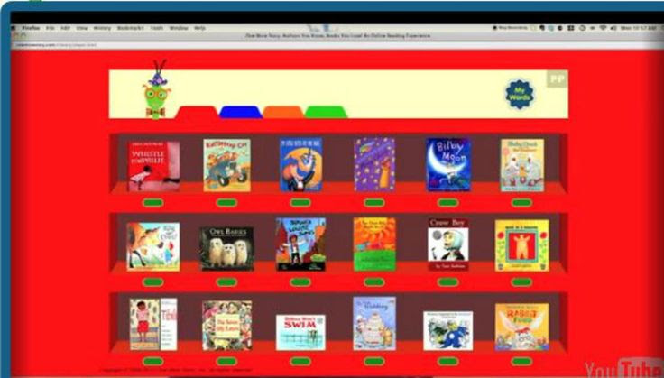 Pinner said:  An online library of children's picture books read by professional narrators and complemented with original soundtracks produced by former Sesame musical director Robby Merkin. This site is a must checkout!