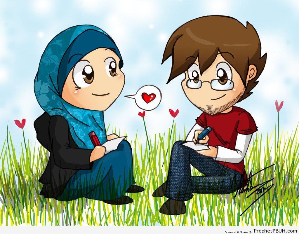 Gambar Anime Muslimah Lucu Lucu Club