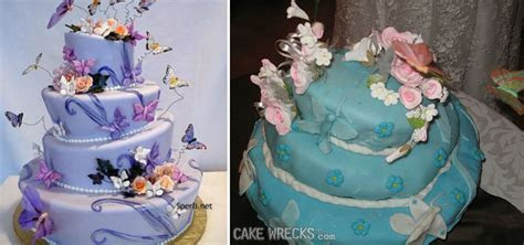 20 of the Most Half Baked Wedding Cake Wrecks   A Bit Out